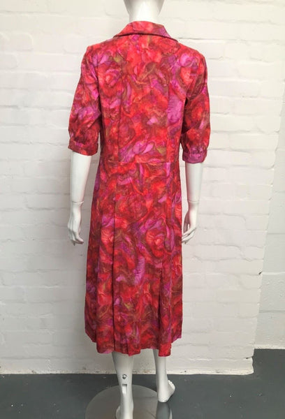 Vintage 50's Pink Shirtwaister Dress - Minimum Mouse