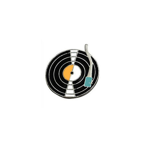 Vinyl Record Lapel Pin Badge - Minimum Mouse