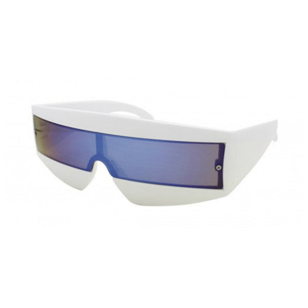 80s Sci Fi Visor Wrap Around Sunglasses