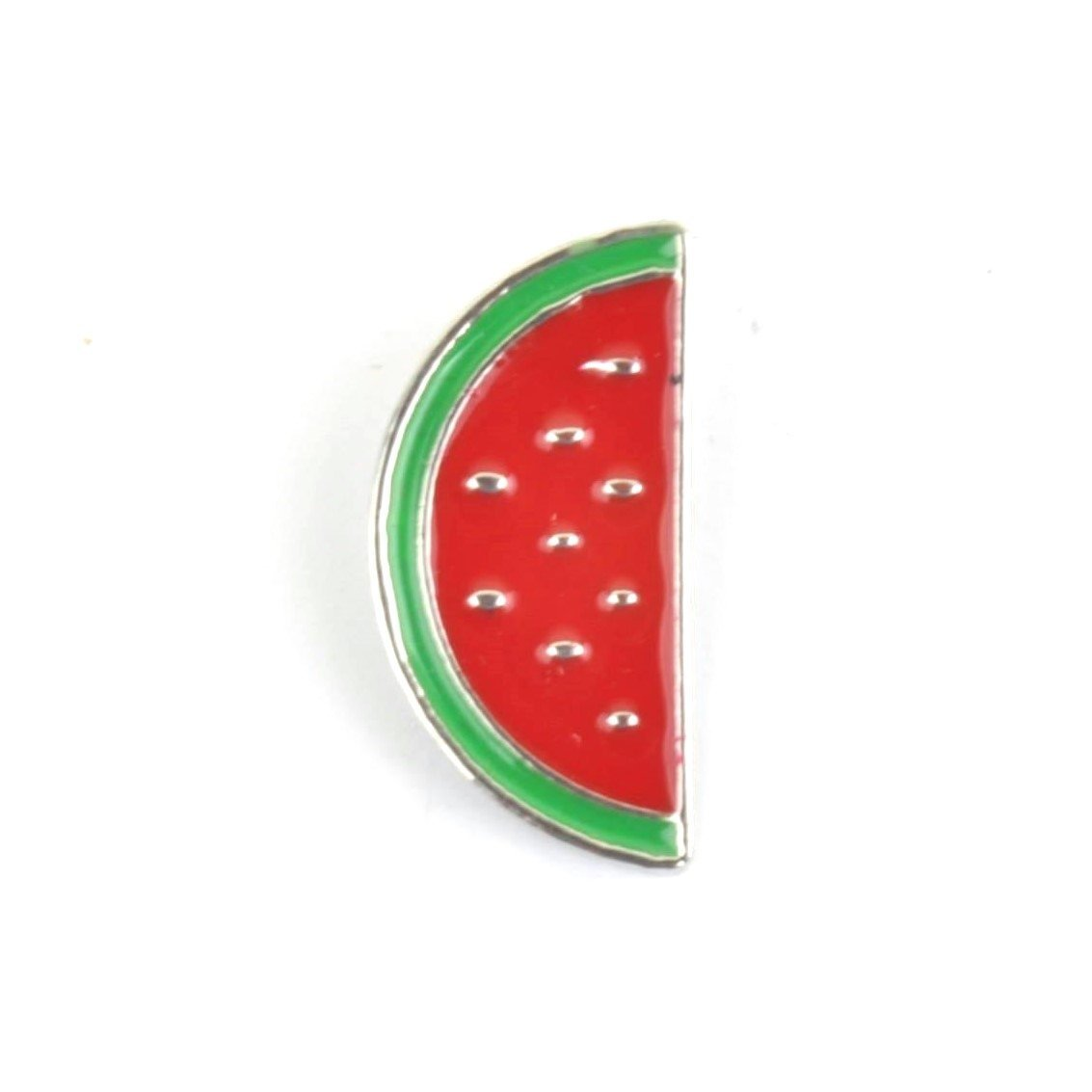 Watermelon Slice Enamel Lapel Pin Badge - Minimum Mouse