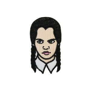 Wednesday Addams Iron On Patch - Minimum Mouse
