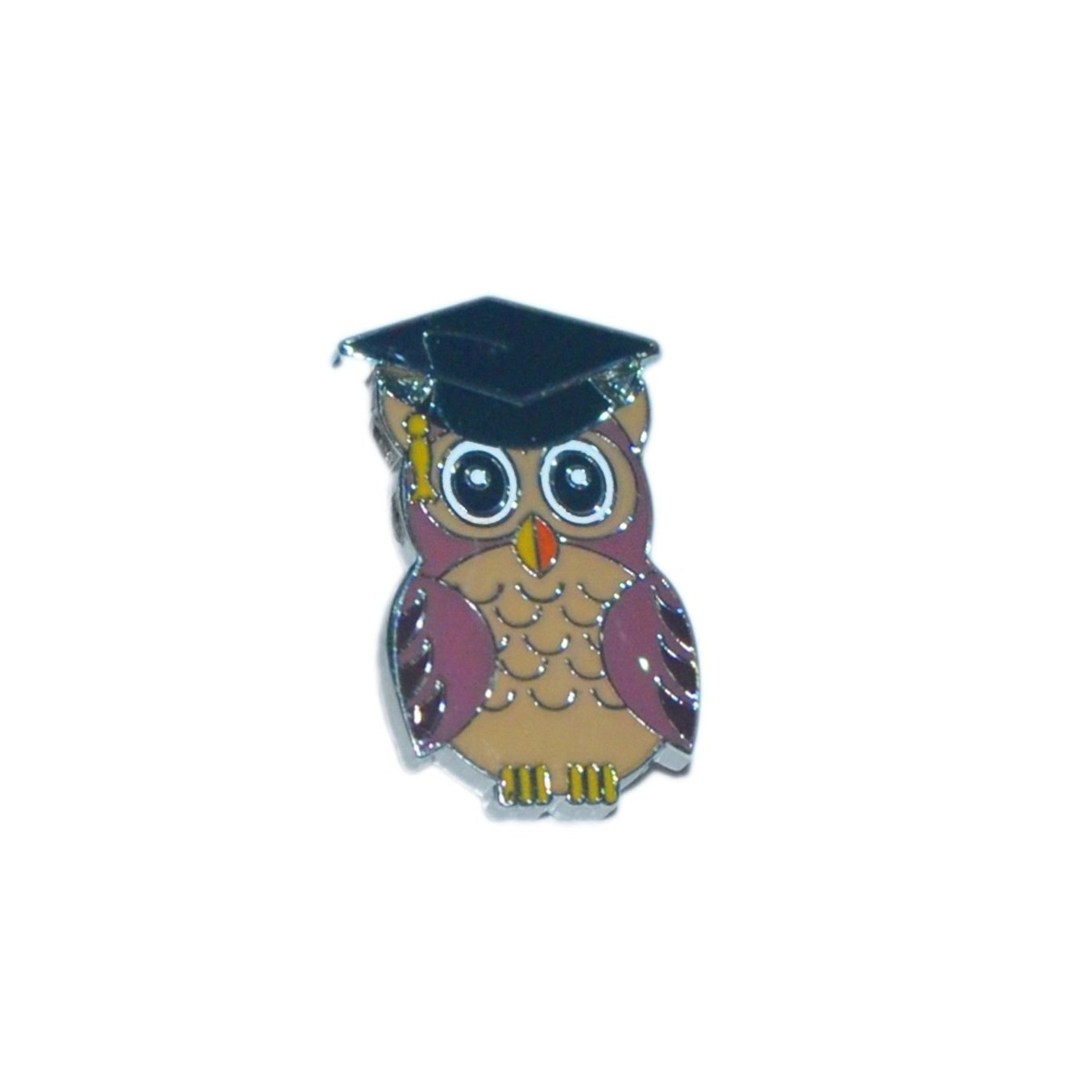 Wise Owl University Graduate Lapel Pin Badge - Minimum Mouse