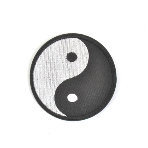 Yin Yang Iron On Patch - Minimum Mouse