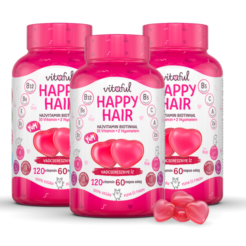 Happy Hair Hajvitamin