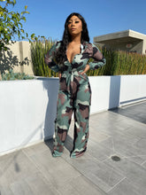 Load image into Gallery viewer, Candace Camo Jumpsuit - Day 3 Boutique