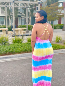 Neriah Tie Dye Maxi Dress