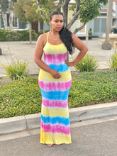 Load image into Gallery viewer, Neriah Tie Dye Maxi Dress