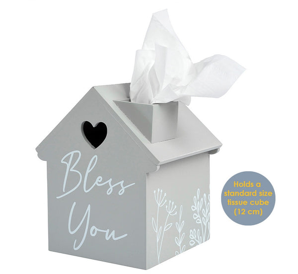 Bless You House Tissue Holder