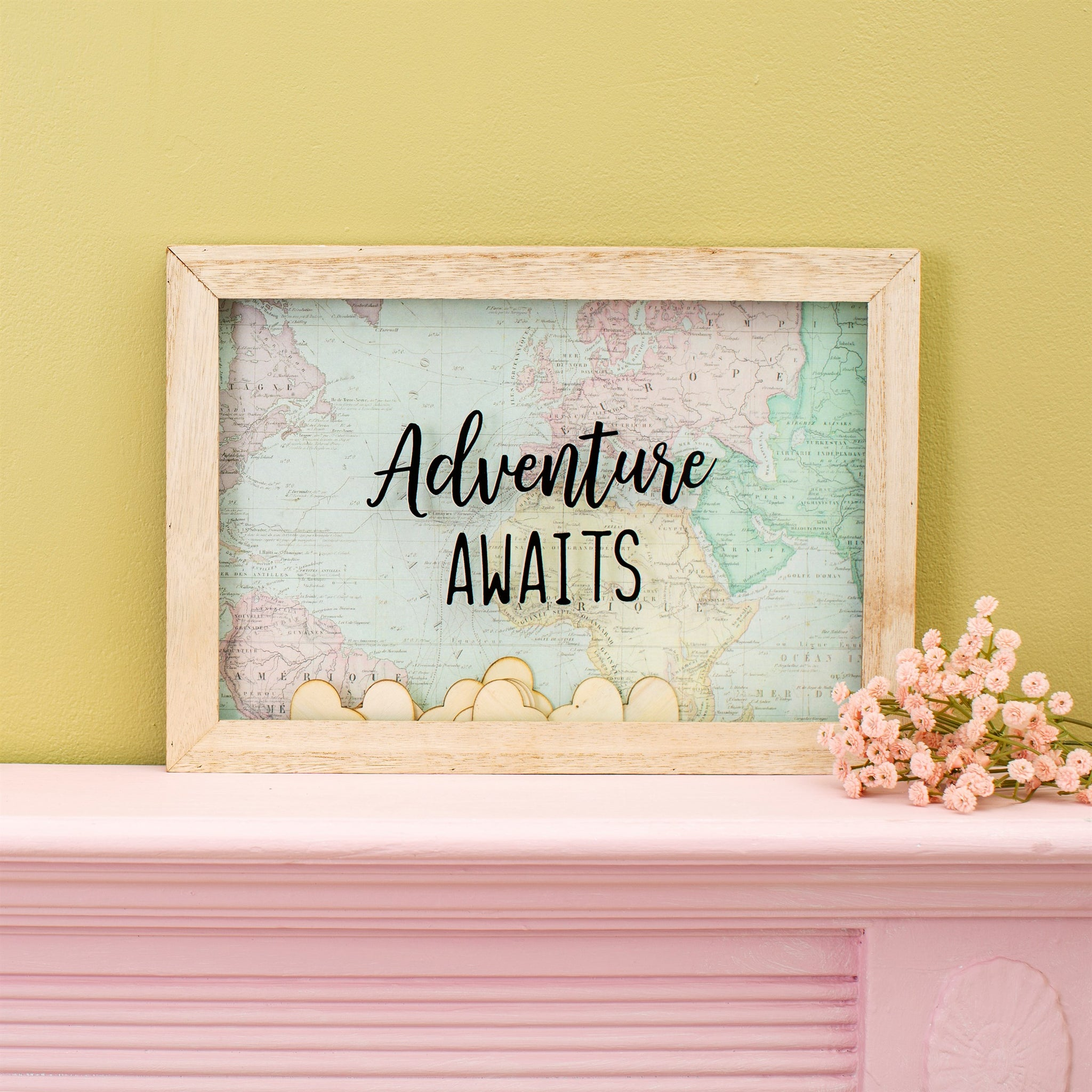 Adventure Awaits Message Frame