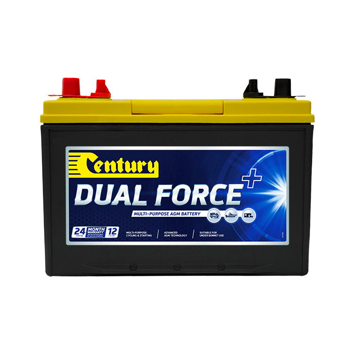 148116 Century Dual Force+ Battery 24X MF 12Volts 730CCA 75AH | Deep Cycle | Perth Pro Auto Electric Parts
