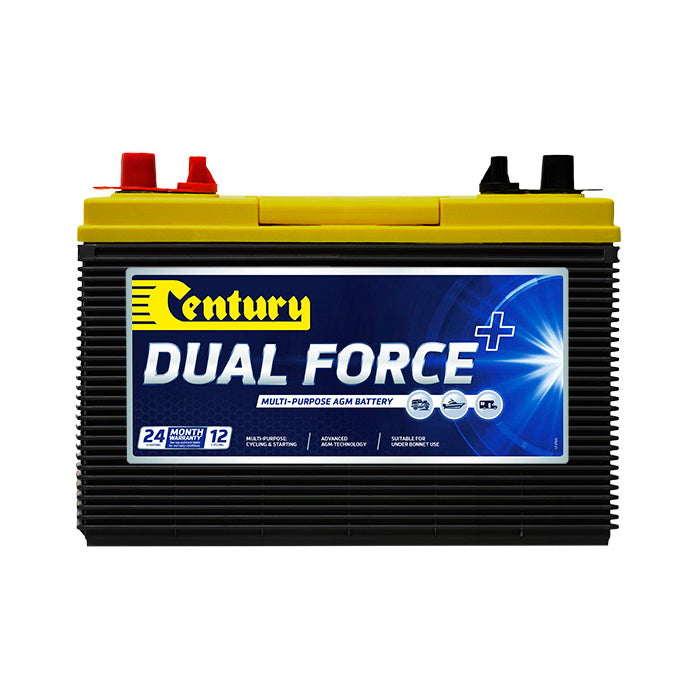 148118 Century Dual Force+ Battery 31X MF 12Volts 950CCA 100AH | Deep Cycle | Perth Pro Auto Electric Parts