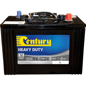Century Heavy Duty Battery 26 800CCA 280RC 143AH