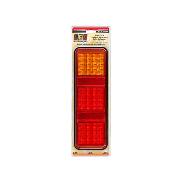 LED-283ARRM LED Autolamps LED Stop/Tail/Indicator/Reflector 12-24V 283x100x25mm | Stop/Tail/Indicator Lights| Perth Pro Auto Electric Parts