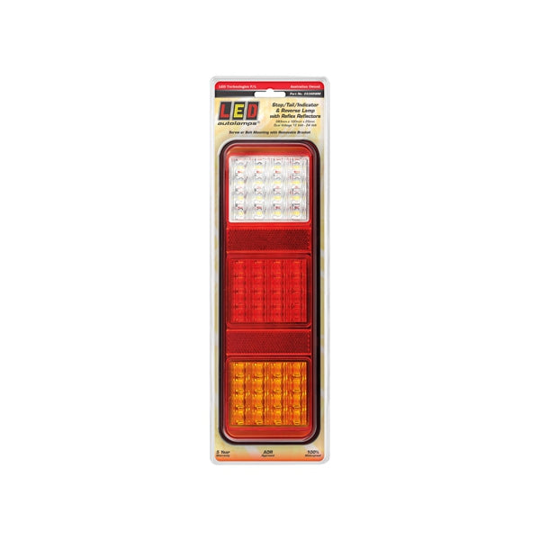LED-283ARWM LED Autolamps LED Stop/Tail/Indicator/Reverse Lamp 12-24V 283x100x25mm | Stop/Tail/Indicator Lights | Perth Pro Auto Electric Parts