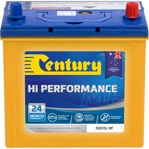 Century Hi Performance Battery 55D23L MF 540CCA 105RC 60AH