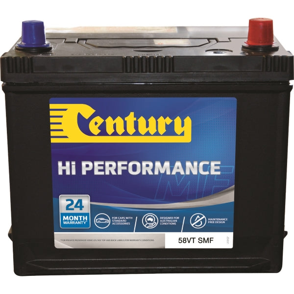Century Hi Performance Battery 58VT SMF 530CCA 95RC 52AH