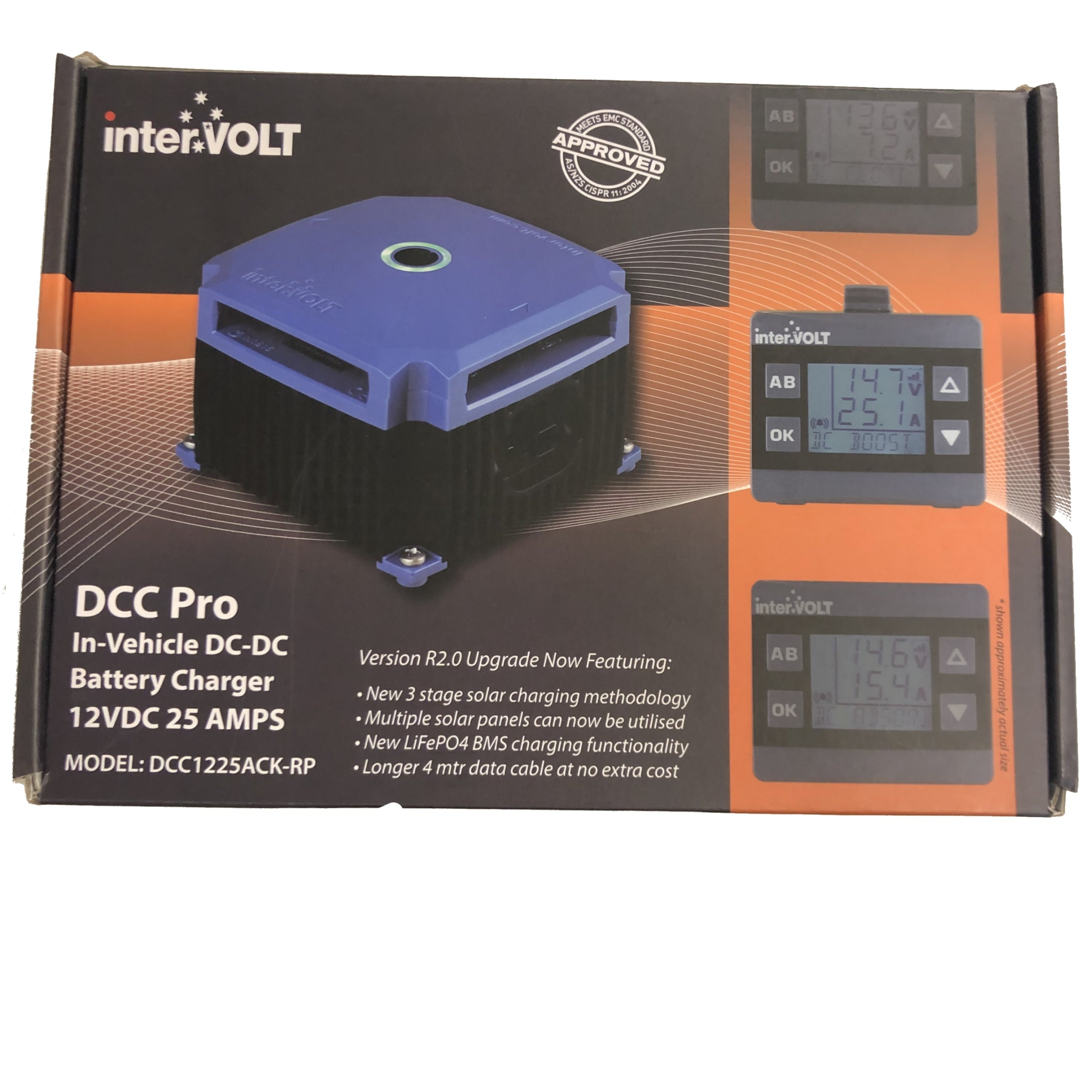 DCC1225ACK-RP Intervolt DCC Pro In-Vehicle DC DC Battery Charger with remote display | DC Charger | Perth Pro Auto Electric parts