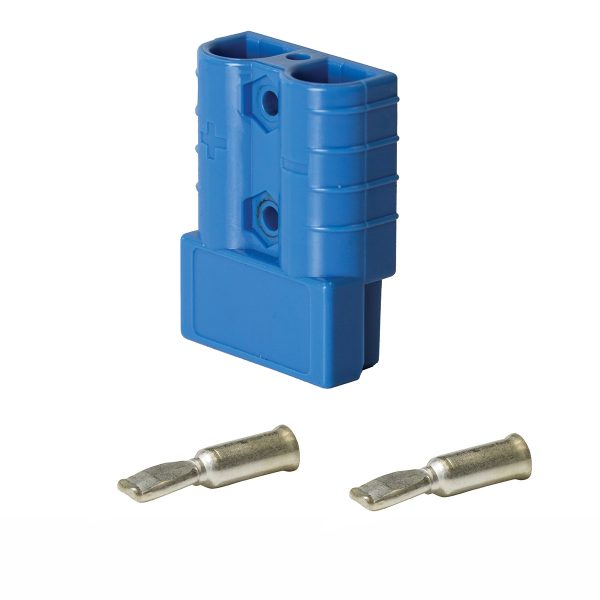 KTHDC50BE Anderson Style Connector Plug 50A Suit 8mm2 | Connectors | Perth Pro Auto Electric Parts