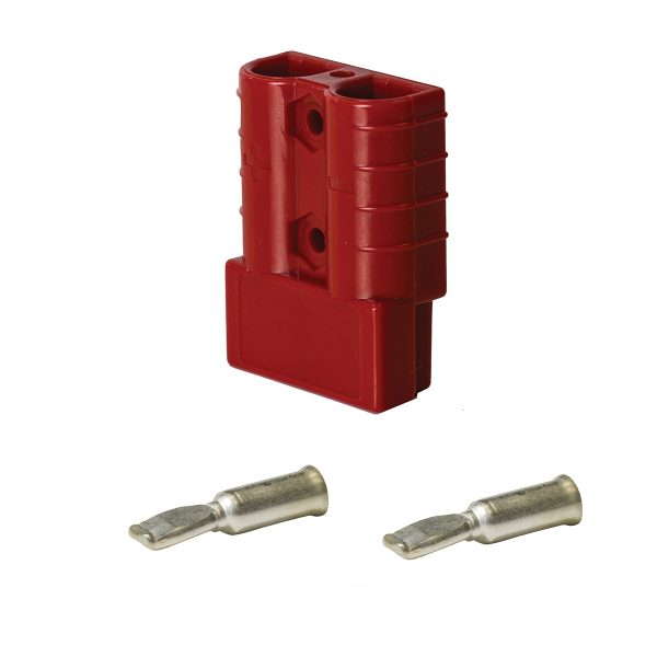KTHDC50RD Anderson Style Connector Plug 50A Suit 8mm2 | Connectors | Perth Pro Auto Electric Parts
