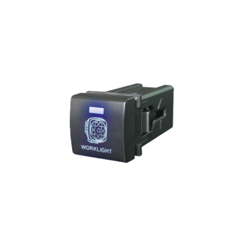 QVSWPL2BBL QVEE Square Toyota Style Worklight Switch | Switches | Perth Pro Auto Electric Auto