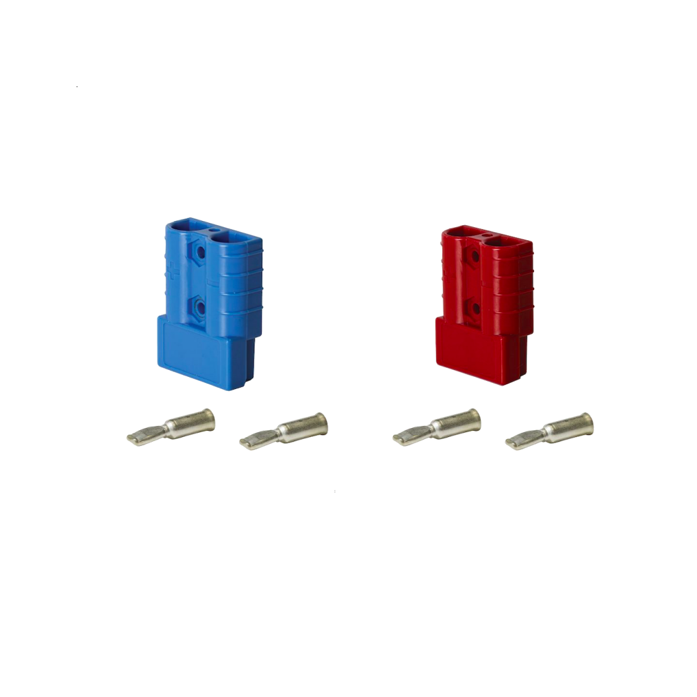 KTHDC50RD KTHDC50BE Anderson Style Connector Plug 50A Suit 8mm2 | Connectors | Perth Pro Auto Electric Parts