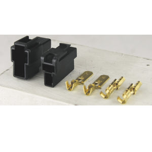 QK Series 250 Connector Kit Black 2 Way