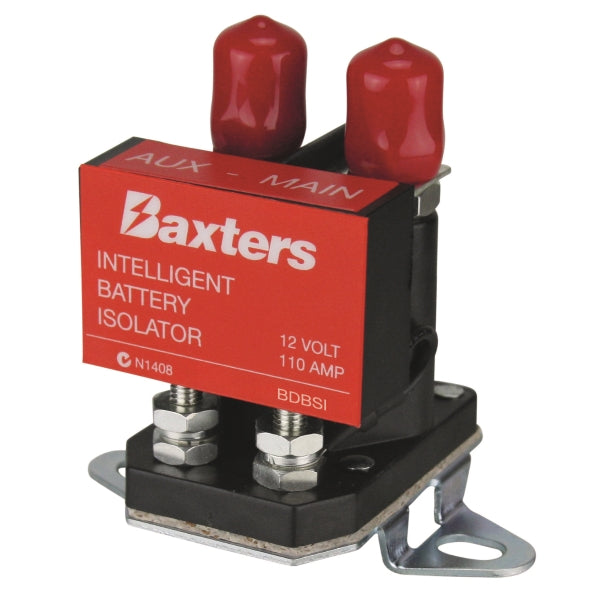 Baxters Dual Battery Smart Isolator 12V 110A Slim Type