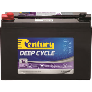Century Deep Cycle AGM Battery C12-120XDA 12Volts 120AH
