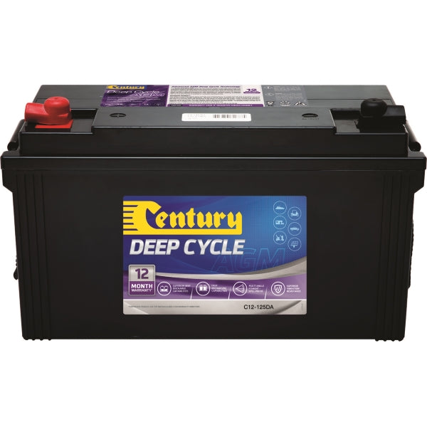 Century Deep Cycle AGM Battery C12-125XDA 12Volts 125AH