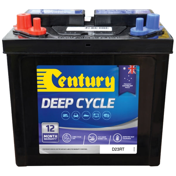 Century Flooded Deep Cycle Battery D23RT 12Volts 65AH