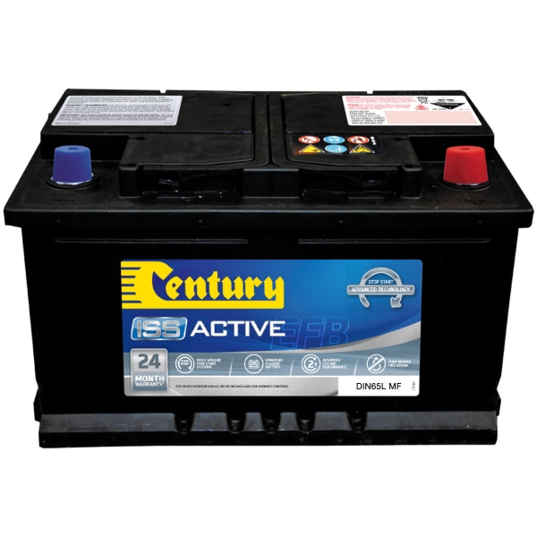 Century ISS Active Battery EFB DIN65L MF 590CCA 120RC 70AH