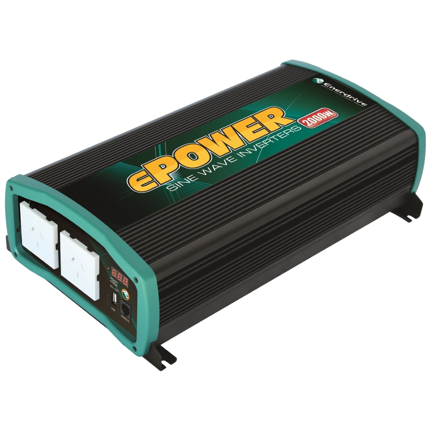 Enerdrive Inverter 2000 Watt 12V & 24V