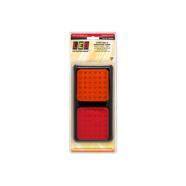 LED-80BARM LED Autolamps LED Stop/Tail/Indicator Lamps 12-24V  188x100x28mm | Stop/Tail/Indicator Lights | Perth Pro Auto Electric Parts