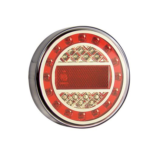 LED-MAXILAMP1XRE | LED Autolamp LED Reflex Reflector 12-24V 125x40mm | Stop/Tail/Indicator Lights | Perth Pro Auto Electric Parts