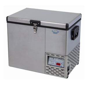 National Luna Legacy 40L Freezer/Fridge Stainless Steel