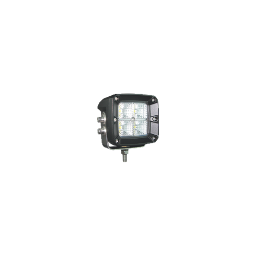 Qvee High Powered Square LED Worklight 20W Flood Beam