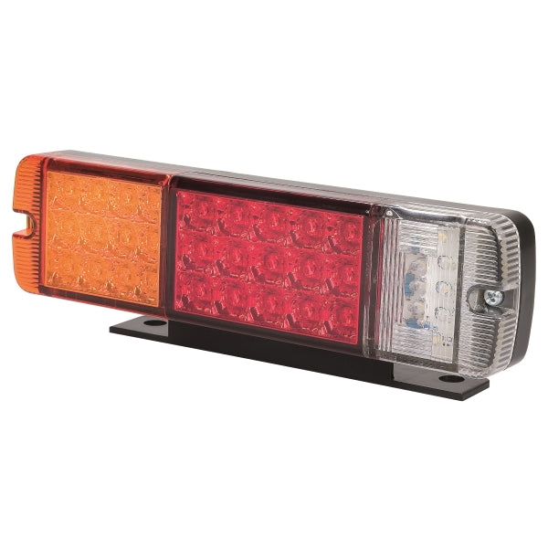 Roadvision Twin Pack LED Rear Combination Lamp Stop/Tail/Ind/Rev/Ref