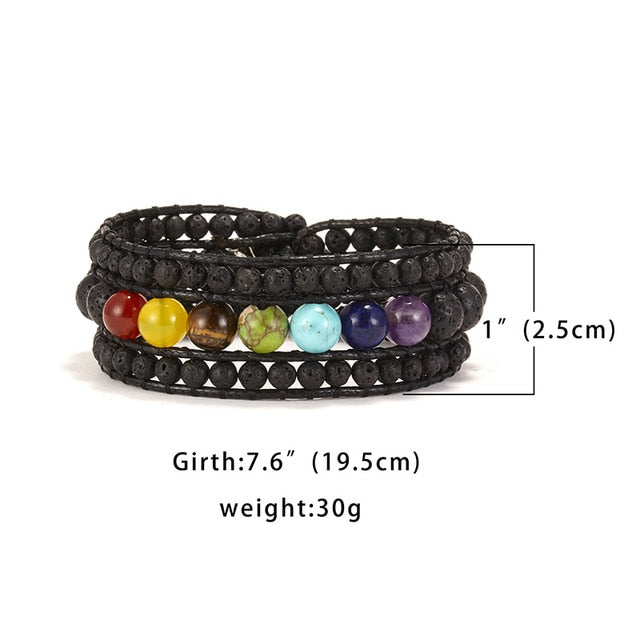 'Find your Chakras' bracelet