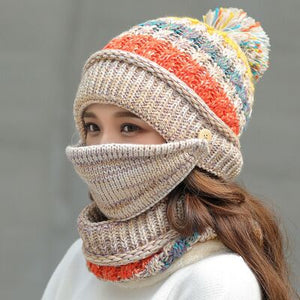 Combined Hat & Scarf Set