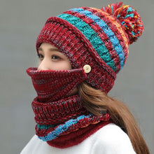 Load image into Gallery viewer, Combined Hat & Scarf Set
