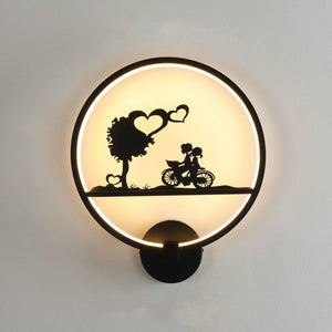 Creative Round Wall Lamp