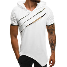 Load image into Gallery viewer, Hooded t-shirt