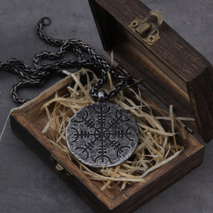 "Viking ""Helm of Awe"" necklace"