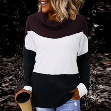 Load image into Gallery viewer, Off Shoulder-turtleneck Sweater