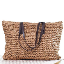 Load image into Gallery viewer, Handmade Straw Bag