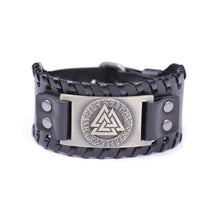 Load image into Gallery viewer, Viking 'Valknut' bracelet