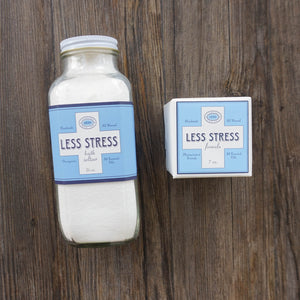 Less Stress Bath Seltzer & Bath Bomb
