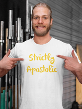 Load image into Gallery viewer, Gold Standard Strictly Apostolic T-shirt