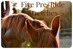 5 preride stretches