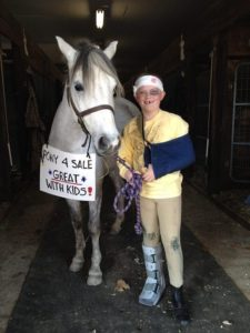 horse costume pony for sale